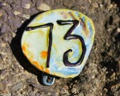 Big Bang Pin, Repurposed Bottle Cap Pin, Upcycled Pin Back Button OOAK: Sheldon's Best Number 73 - shipping included