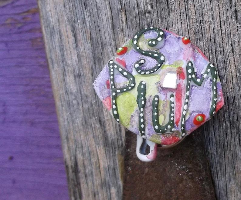 Sugar Plum Christmas Pin Christmas Sugar Plums Funky Xmas image 0