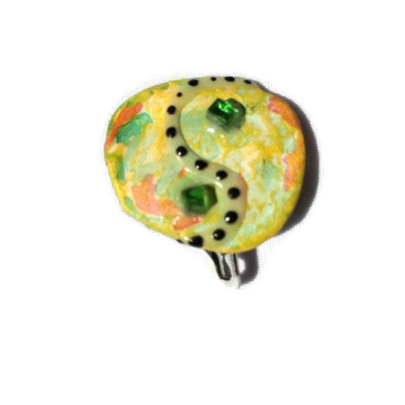 Yin Yang Pin Yin Yang Jewelry Eco Yin Yang Sparkle Yin Yang image 0