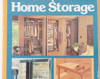 DECORATING BOOK Complete STORAGE Solutions Book For Your Home by Sunset