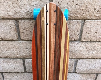 One-Off Wood Skateboard with a kicktail - Model - I