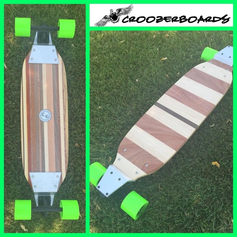 Solid Wood Longboard 2 Sided with Drop Plates Esperanza