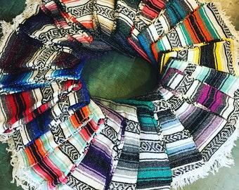 Classic Mexican blanket - various colors available