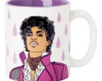 Prince Purple Rain coffee tea mug by The Found // retro kitsch kitchen home // gender neutral gift under 20
