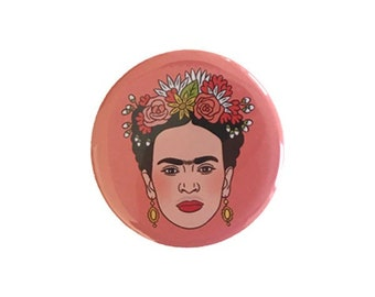 Frida Kahlo Magnet // made in the USA // stocking stuffer // gift under 10