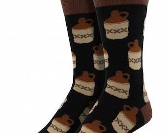 Mens Moonshine Jug  Socks