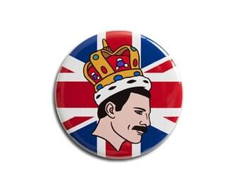 Freddie Mercury Queen Magnet by The Found