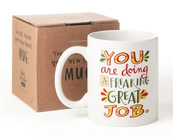 Great Job Mug by Emily McDowell (PG Version) // gift idea under 20