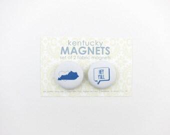 Hey Y'all Kentucky Magnet Set Handmade by Megan McCrary