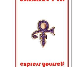 Prince Symbol Lapel Pin