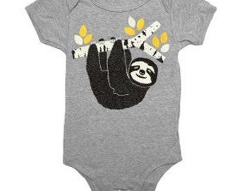 Sloth Baby Onesie