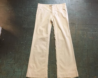 Vintage 90s low rise corduroy bells by Billy Blues // size 8 // made in USA // boho hippie flower child Woodstock festival grunge