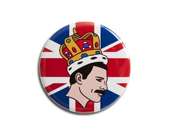 Freddie Mercury Queen Magnet by The Found
