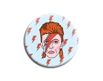 David Bowie Magnet by The Found