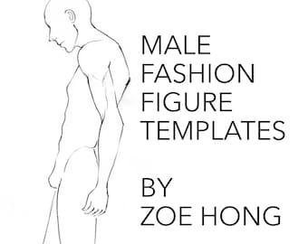 You May Also Like Male FASHION FIGURE TEMPLATES