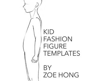 You May Also Like Kid FASHION FIGURE TEMPLATES