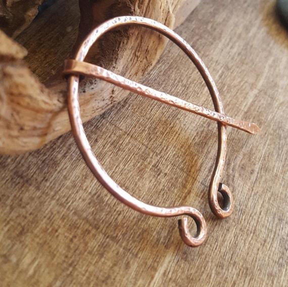 Celtic Viking Norse Knot Brooch Pin Scottish Pennanular Cloak Jewelry Vikings