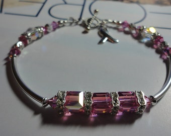 Pink Hope - Breast Cancer Awareness Bracelet