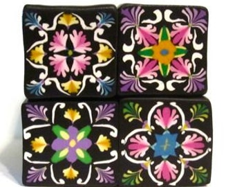 Polymer Clay Flower Tile Canes Tutorial January 2014 Cane Builder