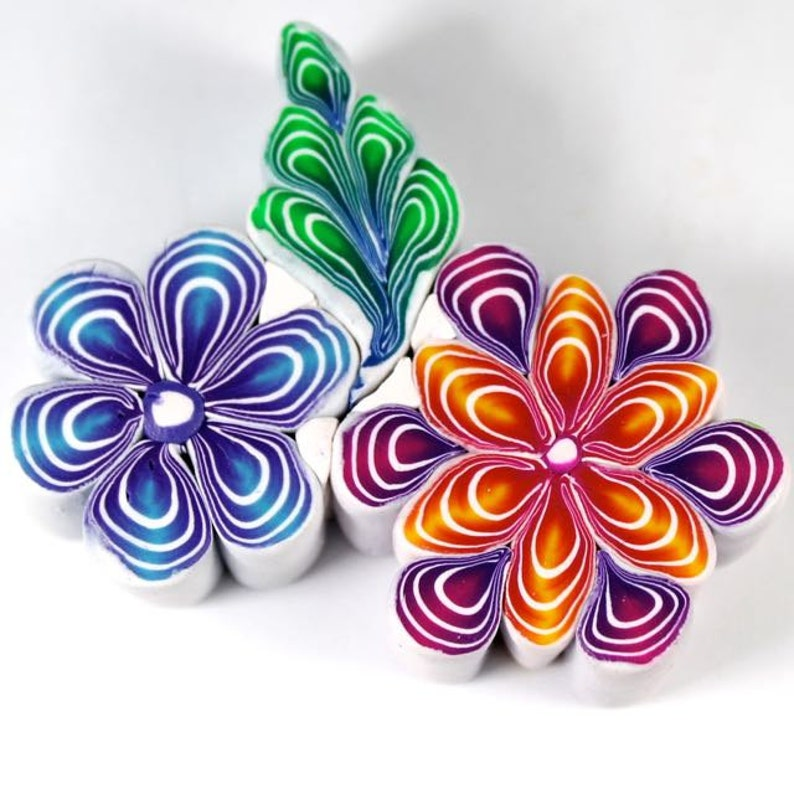 Polymer Clay Quilled Canes Tutorial image 0