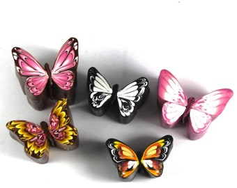 Polymer Clay Butterfly Cane Tutorial Simple Technique and Video Link