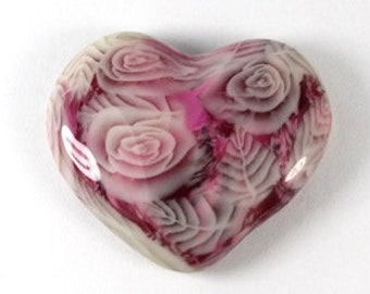 Polymer Clay Frosted Rose Cane Tutorial