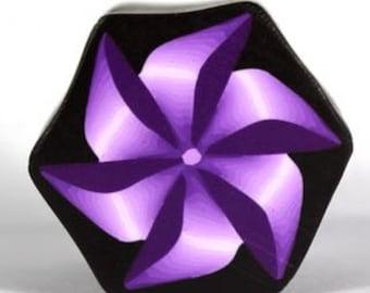 Polymer Clay Pinwheel Cane Tutorial