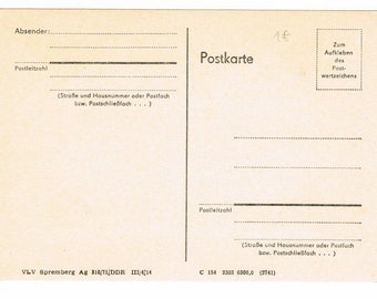 4 German Stationery Cards , Germany , Vintage Postal Cards