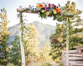 3 Piece Birch Wedding Arch/Arbor Only