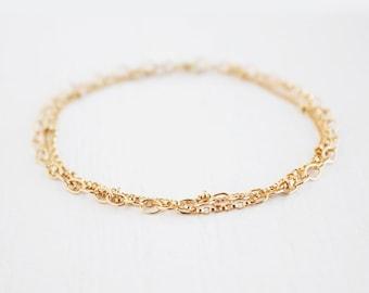 Multi Chain Bracelet - 14k Gold Filled or Sterling Silver - James Bracelet