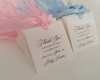 Bumble Bee Baby Shower Gift Tags For Guest Favors Bumble Bee Etsy