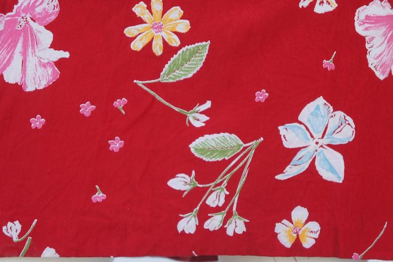 Vintage 90s sleeveless Floral Mini DressSmall Size