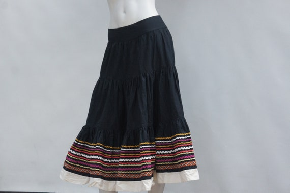 Vintage French Connection Retro Fiesta Skirt/Mexic