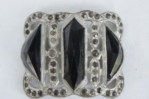 Vintage 20s-30s Art Deco Belt Buckle/Costume jewel