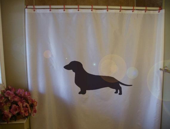 Tende Da Doccia Personalizzate : Bassotto tenda doccia salsiccia cane razza wiener cucciolino etsy