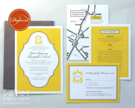 Checkerboard Wedding Invitations: Items Similar To Jolly Checker Eco-friendly Wedding