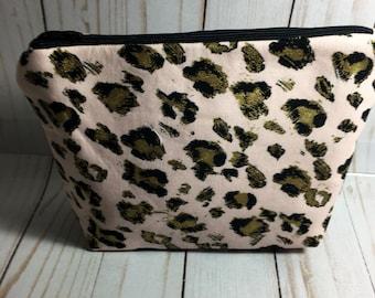 9556423a1e71 Animal Print Makeup Bag