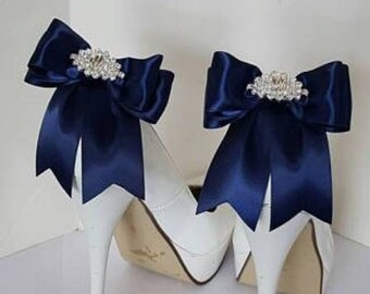 Navy Bridal Shoes Etsy