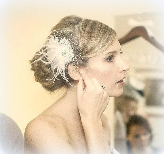 Wedding Hair Facsinator, Bridal Facsinator, Wedding Hair Accessories,  Bridal Hair Clip, Wedding Hair Clip, Wedding Head Piece, Hair Combs