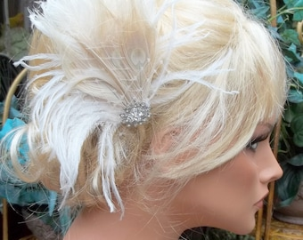 Headpiece Wedding Hairpiece, Bridal Hairpiece, Bridal Fascinator, Wedding Fascinator, Bridal Head Piece, Wedding Hair Accessories, Brides