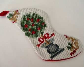 Needlepoint Ornament Etsy