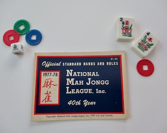 graphic relating to National Mah Jongg League Card Printable named Nationwide league video game Etsy