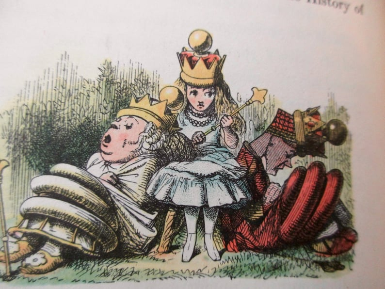 1940s Alice in Wonderland continued Through The LOOKING image 0