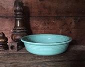 fiesta sea mist medium soup or cereal bowl retired