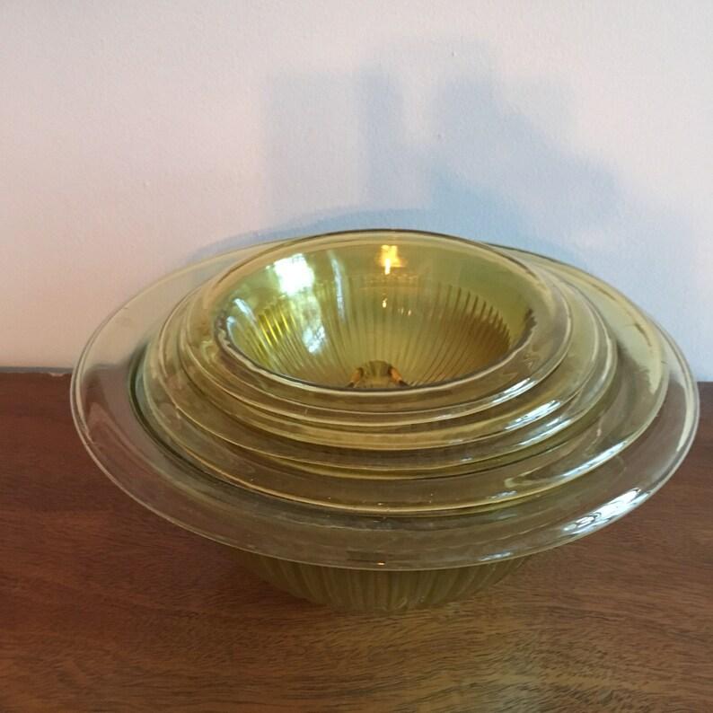 hazel atlas pillar optic ribbed mixing bowl set