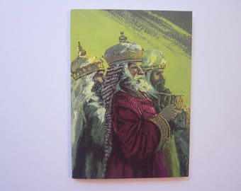 14 vintage christmas cards wise men artistic greetings cards holiday cards - Artistic Holiday Cards