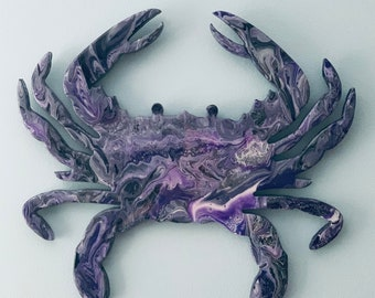 Crab Wall Art, Ravens Crab Wall Art, Baltimore Ravens Crab