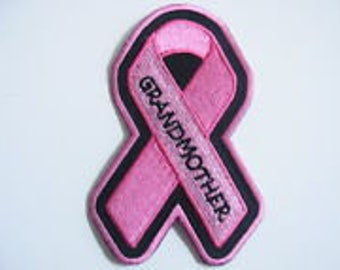 Pink Ribbon Breast Cancer GRANDMOTHER Ribbon