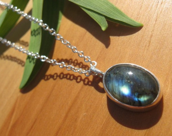 Labradorite Shimmer Necklace