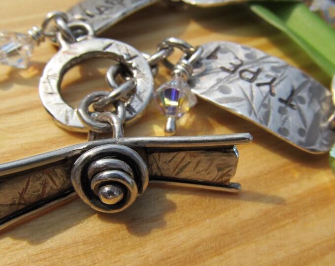 Custom Sterling Toggle Bracelet